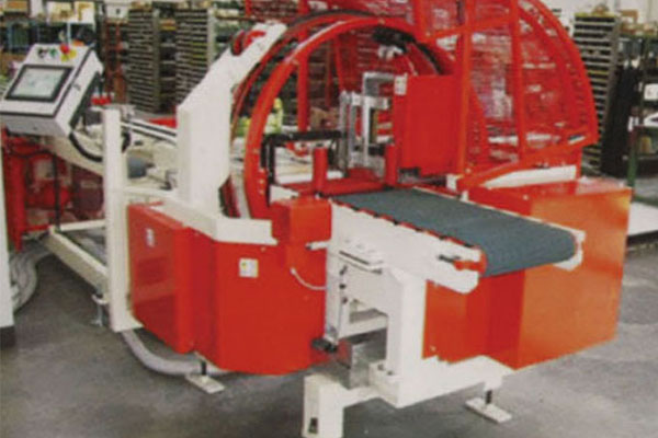 Vertical synchronous cutting machine